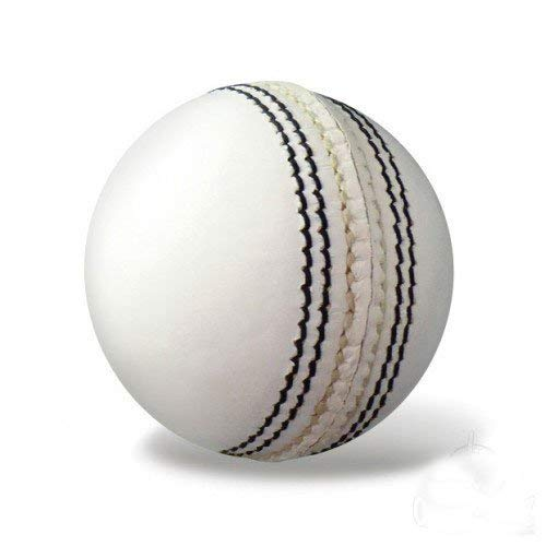 Raisco BW01 Leather Cricket Ball (White)