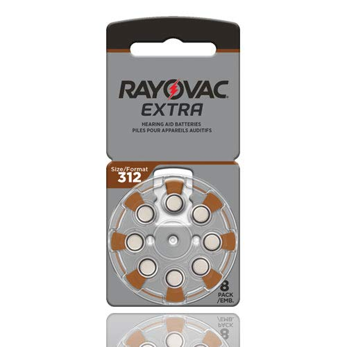 Rayovac Size 312 Extra Advanced Mercury Free...