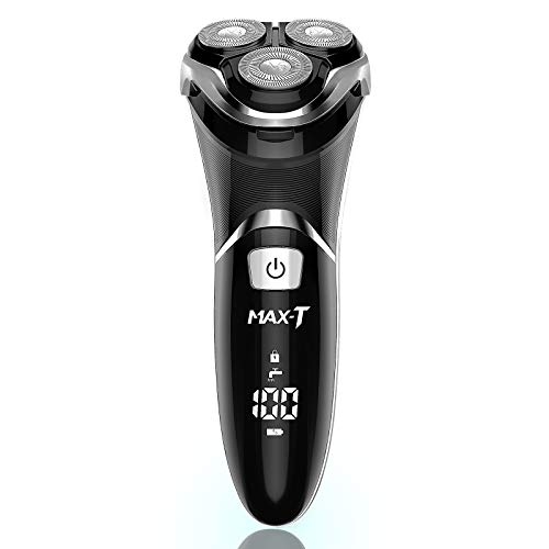MAX-T Men's Electric Shaver - Corded and Cordless...