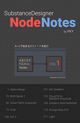Substance Designer Node Notes vol.1
