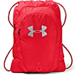 Under Armour Unisex Undeniable 2.0 Sackpack, Red (600)/Silver, One Size Fits All