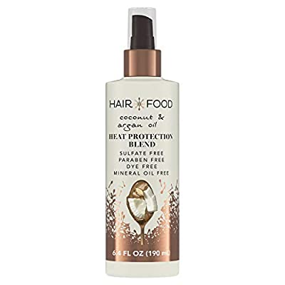 HEAT PROTECTANT: Have no fear of blow-dryers or styling irons. Hair Food Coconut & Argan Oil Heat Protectant Spray Blend helps to seal and protect your hair from heat damage up to 450°F and give it healthy shine (Due to thermal styling) ONLY WHAT YOU...