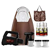MaxiMist Lite Plus HVLP Sunless Spray Tanning KIT Tent Machine...