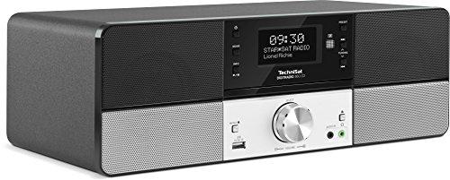 TechniSat DIGITRADIO 360 CD – DAB+ & UKW Radio – Digitalradio (mit Stereo Lautsprechern, Musikbox mit integriertem Radiowecker & CD Player)