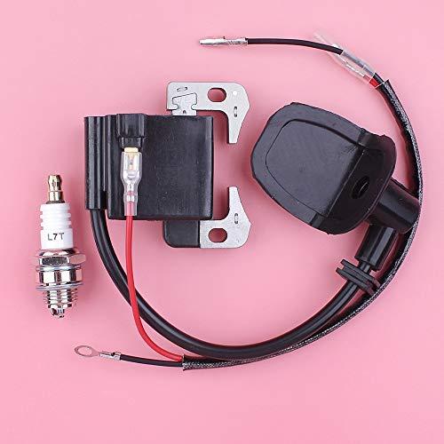 Meipa Tempo Bobina di accensione del modulo Candela Kit for Robin NB411 EC04 BG411 CG411 Trimmer decespugliatore Parte del Motore Engine