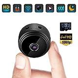 Mini Caméra Espion Cachée WiFi Petite Vidéo HD 1080P Vision Nocturne...