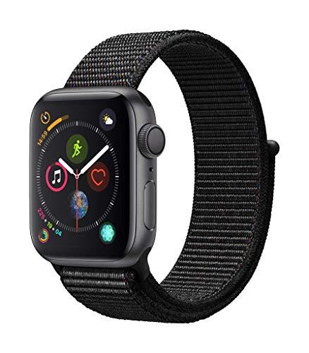 Apple Watch Series 4(GPSモデル)- 40mmスペースグレイアルミニウムケースとブラックスポーツループ
