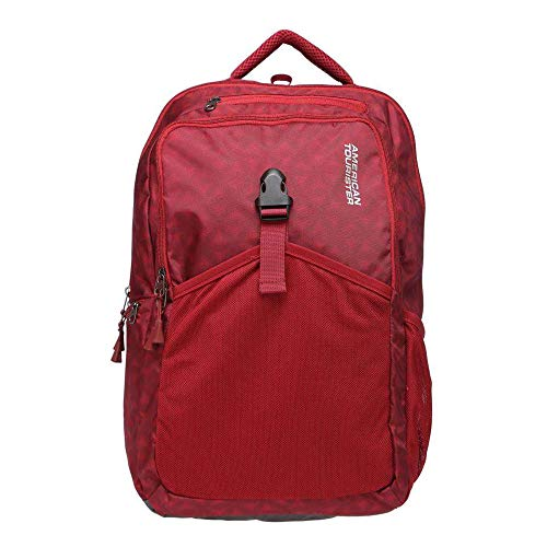 American Tourister 25 Ltrs Red Laptop Backpack (GH5 (0) 20 002)