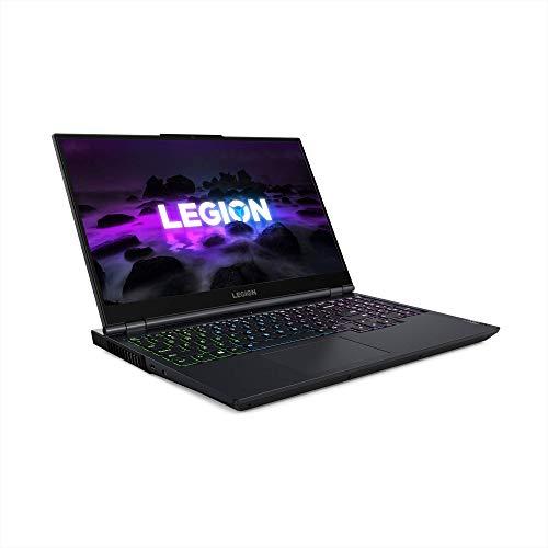 Lenovo Legion 5 15 Gaming Laptop, 15.6' FHD (1920 x 1080) Display, AMD Ryzen 7 5800H Processor, 16GB DDR4 RAM, 512GB NVMe SSD, NVIDIA GeForce RTX 3050Ti, Windows 10H, 82JW0012US, Phantom Blue