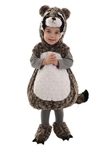 Underwraps Raccoon Toddler Costume-Medium Grey