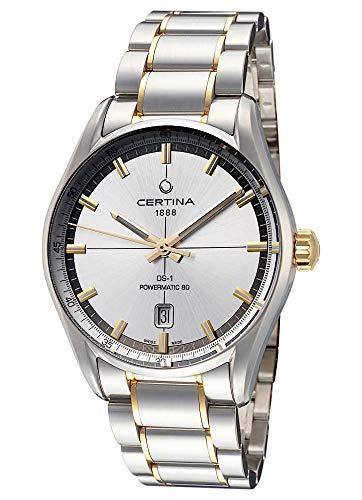 Certina Herren-Armbanduhr DS-1 Powermatic 80 Datum Analog Automatik C029.407.22.031.00