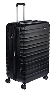 Large 78-centimetre (inner dimension 68.5 cm) hardside spinner luggage - ideal for trips lasting longer than a week Protective hard shell with scratch-resistant finish; made of extra-thick ABS (thicker than the competition) for enhanced strength and ...