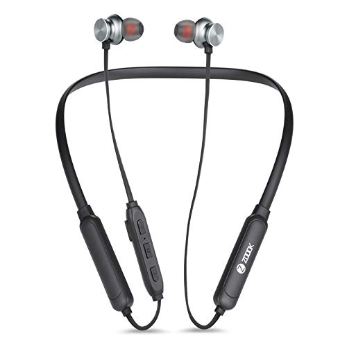 Zoook Claws 2 Sports Bluetooth Wireless Earphone/Neckband with 48 Hours Battery Life Microphone for Clear Calls (Active Black)