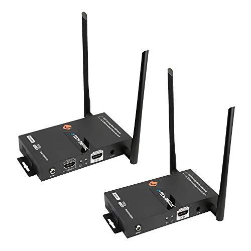 J-Tech Digital HDbitT Series 1X2 Wireless HDMI Extender 200' Dual...
