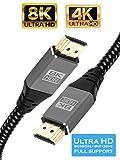 IBRA 2.1 Câble HDMI de 8K à très Haut débit, 48 Gbps | Prend en Charge...