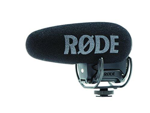 Rode Videomic PRO + Microfono per Camera Digitale -33.6 dB, 20 - 20000 Hz, Supercardioid, 200 Ω, con Cavo, Nero