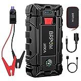 BRPOM Booster Batterie 3000A 26800mAh Démarreur de Batterie Portable Jump...