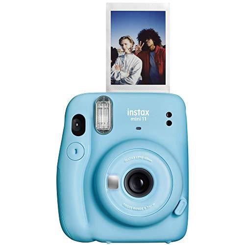 "Fujifilm Instax Mini 11 Instant Camera - Sky Blue, 4.8"" x 4.2"" x 2.6"", Camera Only"