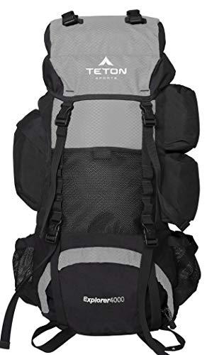 TETON Sports Explorer 4000 Internal Frame, High-Performance Backpack