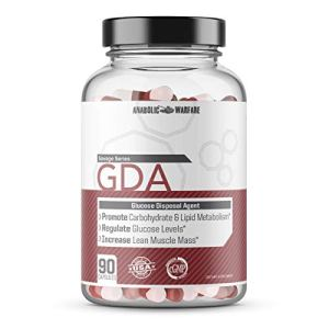 GDA Glucose Disposal Agent Supplement by Anabolic Warfare - GDA Carb Blocker Pills That Supports Blood Sugar Control and Nutrient Partitioning* (1635.3mg per Serving - 90 ct) 7 - My Weight Loss Today