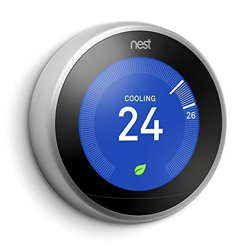 Google Nest Learning Thermostat - Programmable Smart Thermostat for Home - 3rd Generation Nest Thermostat - Works...