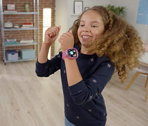 Image 5 - Little Tikes Smartwatch pour enfants Tobi le Robot avec caméras, vidéos, jeux et activités – Rose