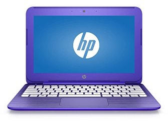 HP Stream 14in Flagship Laptop Computer, Intel Celeron N3060 up to 2.48GHz, 4GB RAM, 32GB SSD, Wifi, Bluetooth, Webcam, USB 3.0, Windows 10 Home, Purple (Renewed)