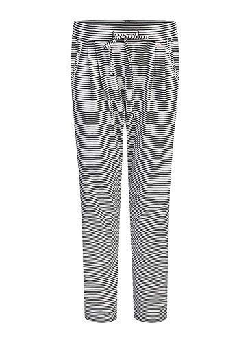 Short Stories Damen Pants Long Schlafanzughose, Schwarz (Black 1199.0), 44 (Herstellergröße: XL)