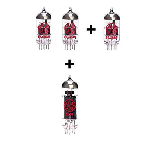 Replacement Valve Kit for Laney Lionheart L5T (2 x ECC83 1 x Balanced ECC83 1 x EL84).