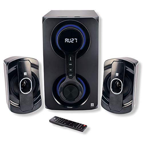 iBall Heavy Bass Thunder 2.1 Multimedia Speakers (Black)