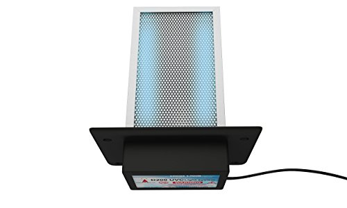 D200 Dual lamp Air Purifier Whole House Filter Uv Light in Duct for Hvac Ac (Air Conditioning) Duct Germicidal
