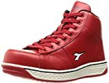[ディアドラユーティリティ] 安全作業靴 JSAA認定 ハイカット プロスニーカー BUZZARD バザード BZ331 レッド/レッド/ホワイト 28.0 cm 3E