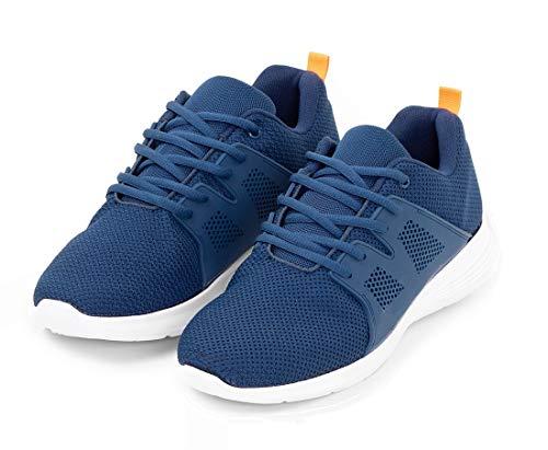 TEX - Zapatillas de Running para Hombre, Deporte, Azul Marino, 42