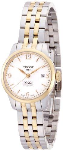Tissot Damen-Uhren Rund Analog Automatik One Size Edelstahl 85803441