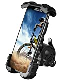 Bike Phone Holder, Motorcycle Phone Mount - Lamicall Motorcycle Handlebar Cell Phone Clamp, Scooter Phone Clip for Phone 11 / Phone 11 Pro Max, S9, S10 and More 4.7' - 6.8' Cellphone