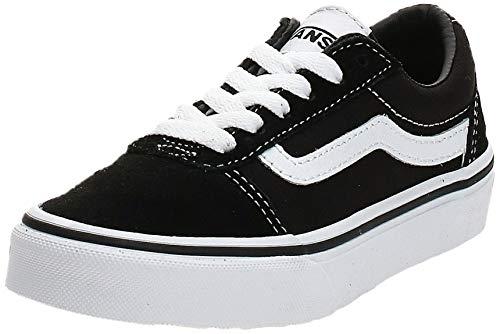 Vans Ward, Sneaker, Suede/Canvas Black/White Iju, 36.5 EU