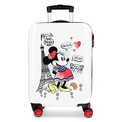 Disney Trolley Cabina Minnie Around The World Paris Rosso, 38x55x20