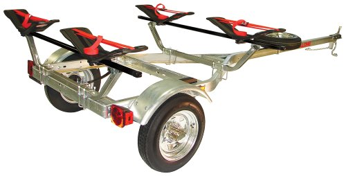 8. Malone MicroSport Trailer Two Kayak Transport Package