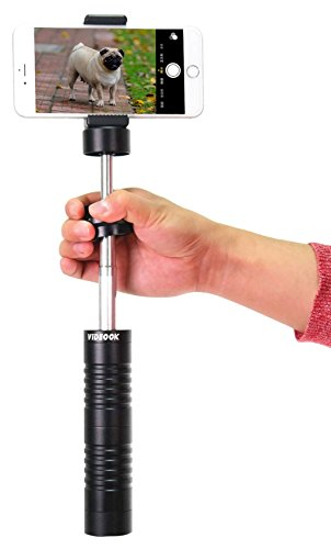 BINKO Videook Handheld iPhone & GoPro Stabilizer Gimbal Compatible with Most Android Phones, Smartphones and Other Compact Action Cameras for Taking Stable Cellphone Videos