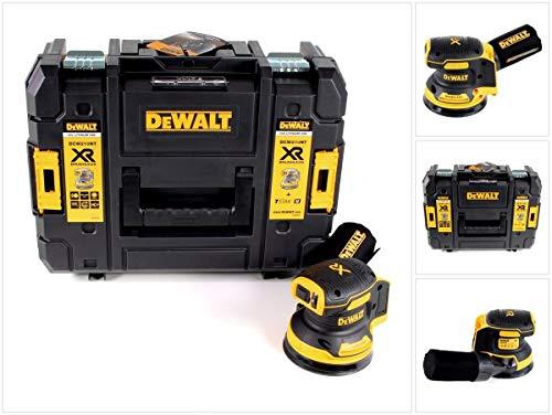 DeWALT DCW210NT-XJ Akku-Exzenterschleifer, 18 V (Basisv, Schwarz/Gelb
