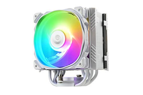 Enermax - ETS-T50A-W-ARGB - Ventirad 230W TDP pour Intel / AMD Ryzen (blanc)