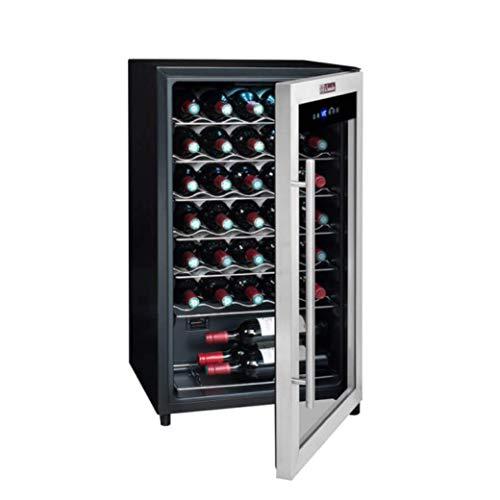 Cave à vin de mise à température LS34A — La Sommelière — Dotée d'une capacité importante pour stocker 34 bouteilles de vin et préserver leur qualité jusqu'au jour de la dégustation