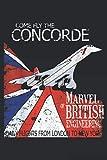 Concorde Retro Vintage British Aircraft Travel Pilot 1: Notebook Planner -6x9...