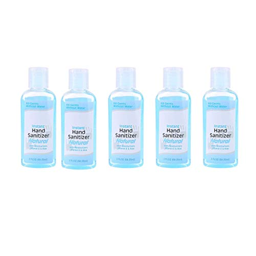 Pack of 5 Gel Hand Sanitizer 60ML Non-Alcoholic Advanced Hand Soap No-wash
