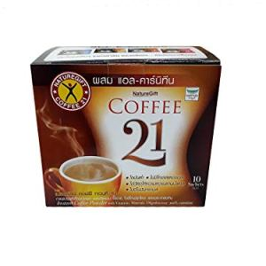 Naturegift Instant Coffee Mix 21 Plus L-carnitine Slimming Weight Loss Diet 2 - My Weight Loss Today