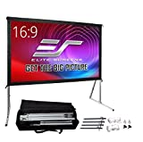 Elite Screens Yard Master 2, 100 inch Outdoor Projector Screen with...