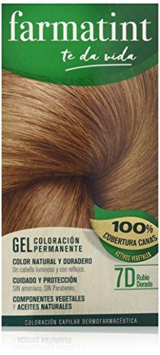 Farmatint Gel 7D Rubio Dorado | Color natural y duradero | C