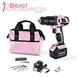WORKPRO Pink Cordless 20V...