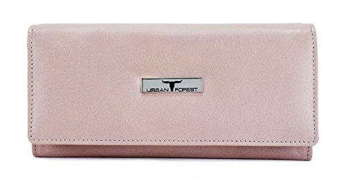 Urban Forest Natalie Du Rose Womens Leather Wallet