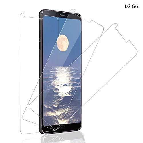 SNUNGPHIR Pellicola Protettiva per LG G6 Schermo Protettivo, [3 Pezzi] Protezione Vetro Temperato LG G6 Anti-Graffo/Olio 9H Durezza [Senza Bolle] [Case Friendly]